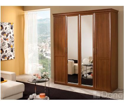 ШКАФ А3109 4-х дверный + 2 зеркала