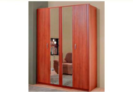Шкаф-гармошка с зеркалом