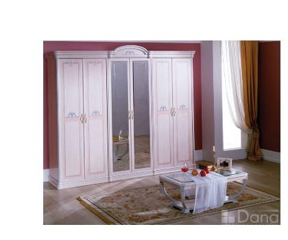 Шкаф ДЕКАПЕ 6-и дверный с 2-я зеркалами (Серия №3 ДЕКАПЕ)