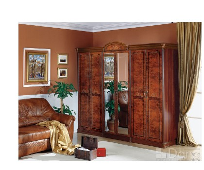Шкаф РАИС 6-и дверный с 2-я зеркалами (Серия №3)