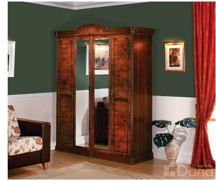 Шкаф РАИС 4-х дверный с 2-я зеркалами (Серия №3)