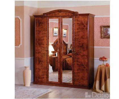 Шкаф РАИС 4-х дверный с 2-я зеркалами (Серия №4)