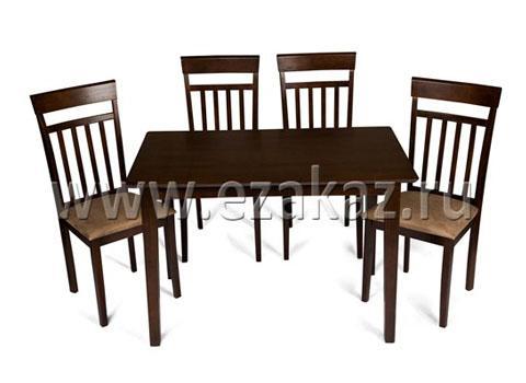 Комплект HV CARNATION (стол + 4 стула)