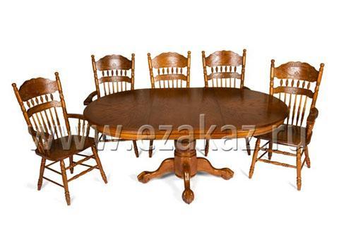 Стол круглый раскладной 4260 STC